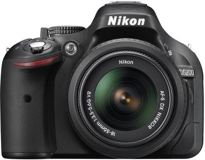 Nikon D5200 (Body with AFS DX NIKKOR 1855 mm F/3.55.6G VR II Lens) DSLR Camera Image