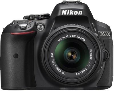 Nikon D5300 (Body with AFS DX NIKKOR 1855 mm f/3.55.6G VR II) DSLR Camera Image