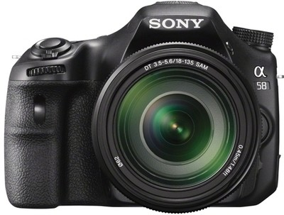Sony Alpha SLTA58M (Body with 18 135 mm Lens) DSLR Camera Image