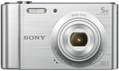 Sony Cybershot DSCW800 Point & Shoot Camera Image