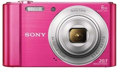 Sony CyberShot DSCW810/PC E32 Point & Shoot Camera Image