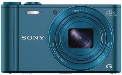 Sony CyberShot DSCWX300 Point & Shoot Camera Image
