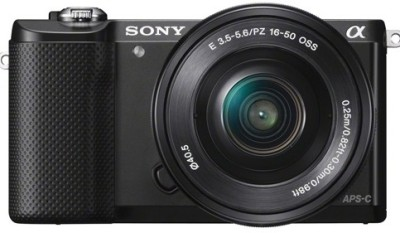 Sony ILCE5000L with SELP1650 Lens Mirrorless Camera Image