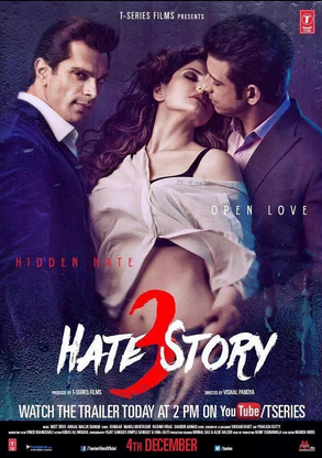 HATE STORY 3 SONGS - Reviews, music reviews, songs, Wallpapers, Cast, mp3  songs, Bollywood songs, Movie Songs, Trailers, Indian music