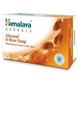 Himalaya Herbals Almond & Rose Soap Image