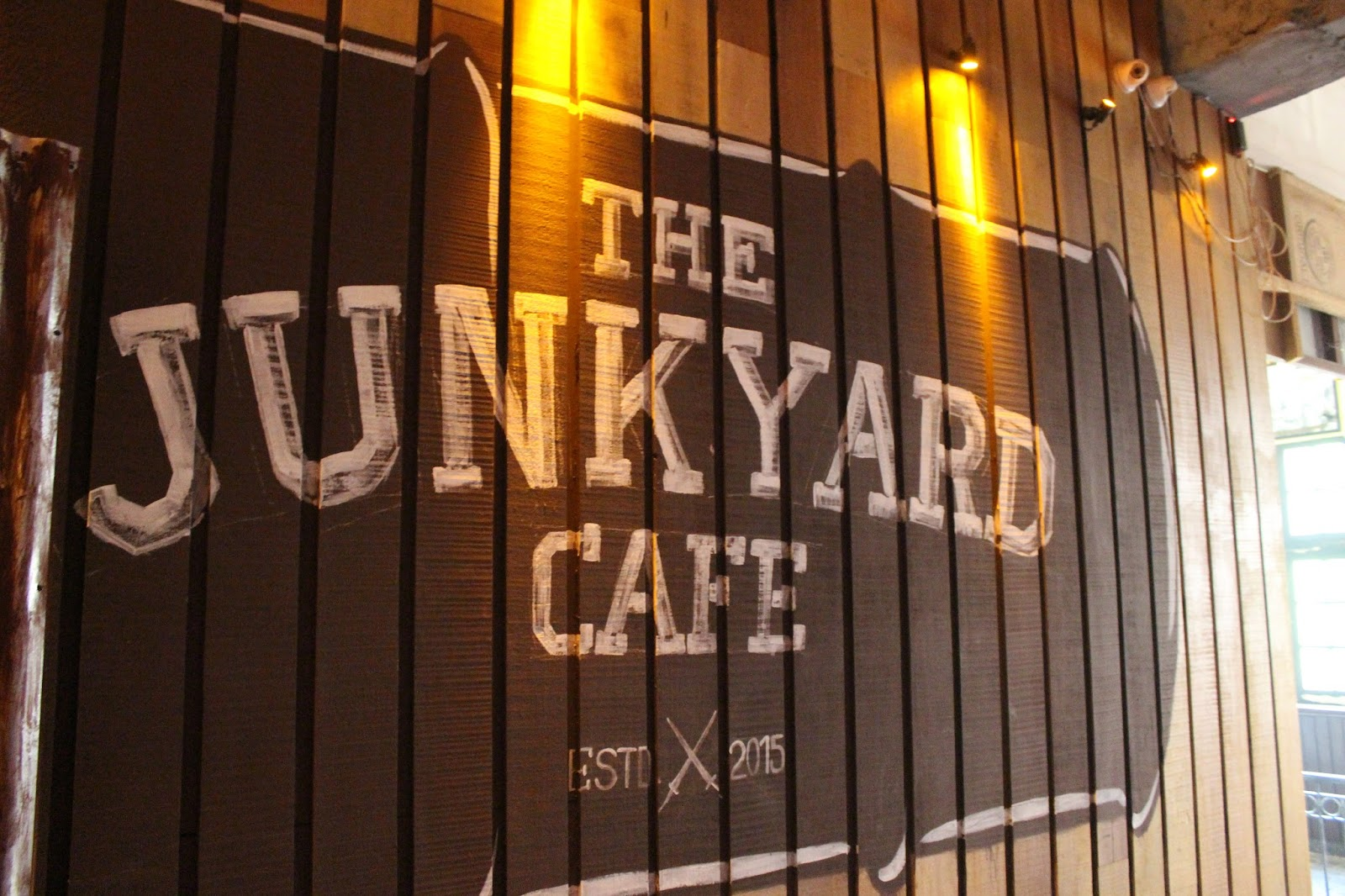 The Junkyard Cafe - Connaught Place - New Delhi Image