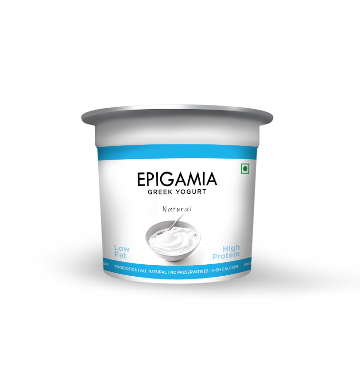 Epigamia Natural Greek Yoghurt Image