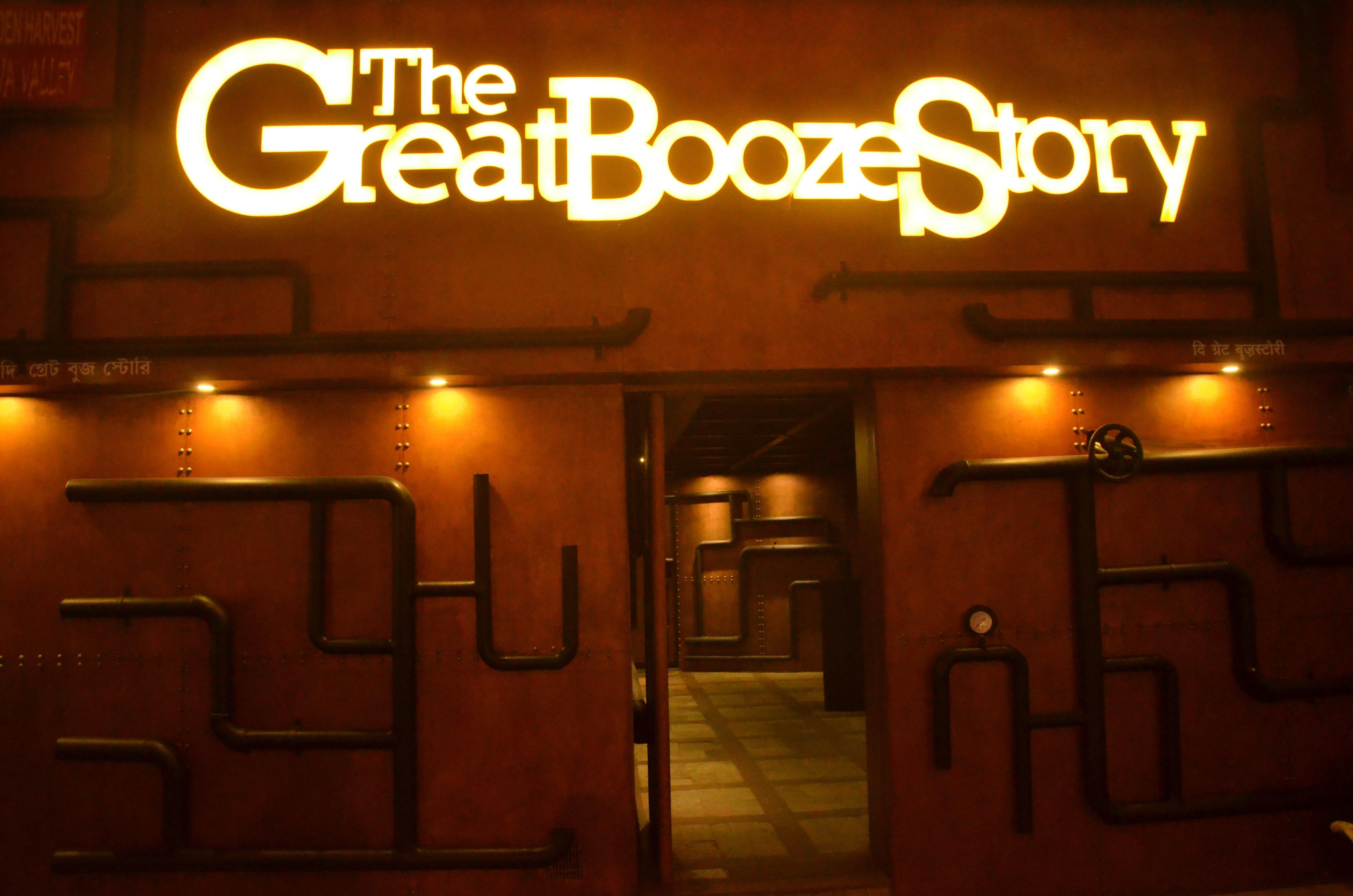 The Great Booze Story - Elgin - Kolkata Image