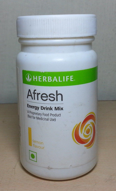 Herbalife Afresh Energy Drink Image