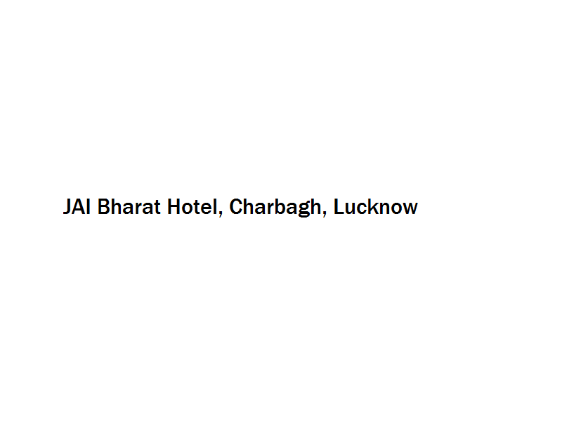 JAI Bharat Hotel - Charbagh - Lucknow Image