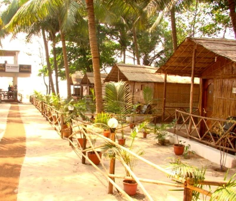 The Sunset Mandrem Goa Hotel Reviews Room Booking Rates