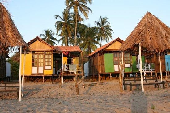 Romance Beach Huts Agonda Goa Image