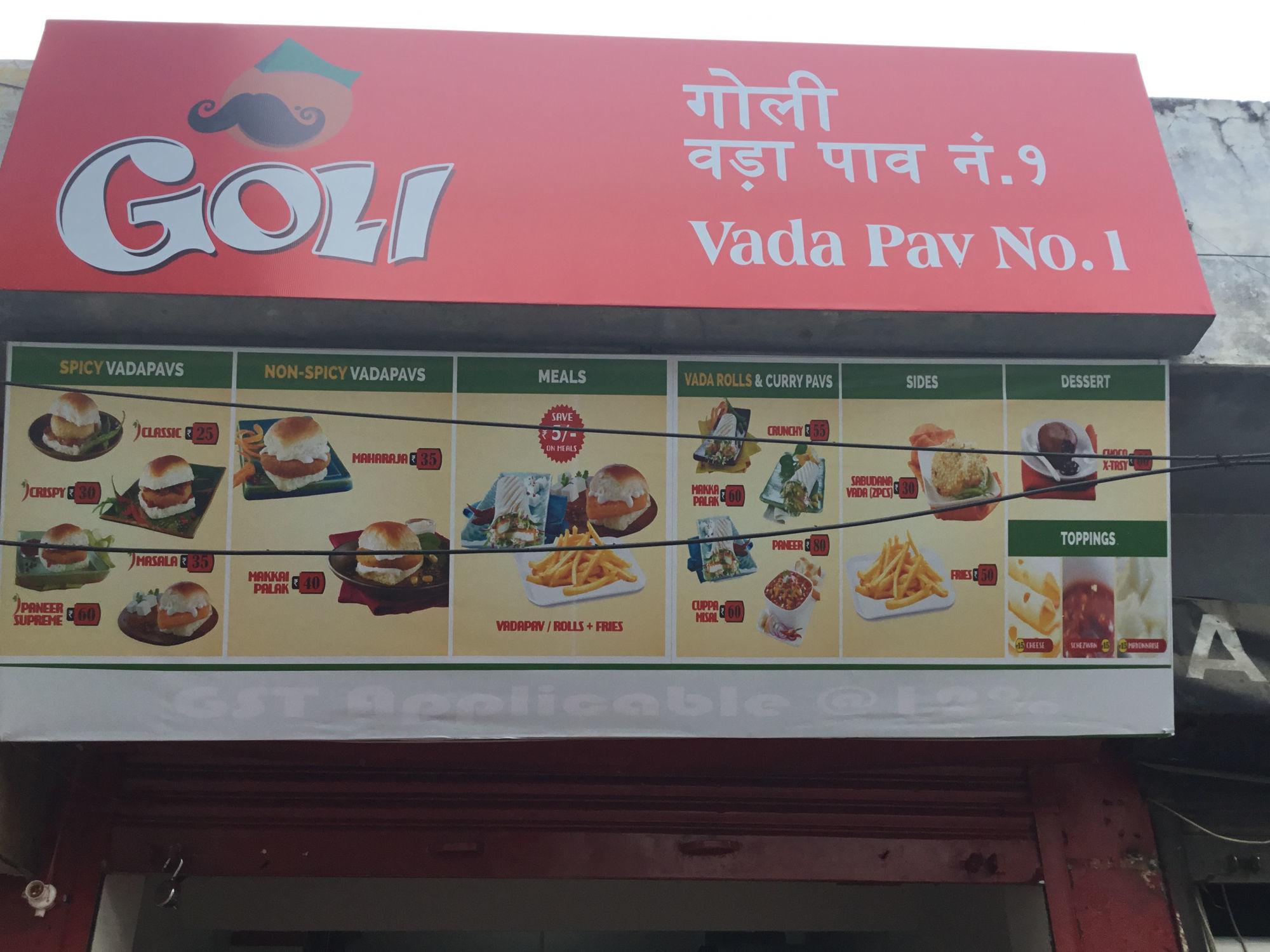 Goli Vada Pao - Aashiana - Lucknow Image