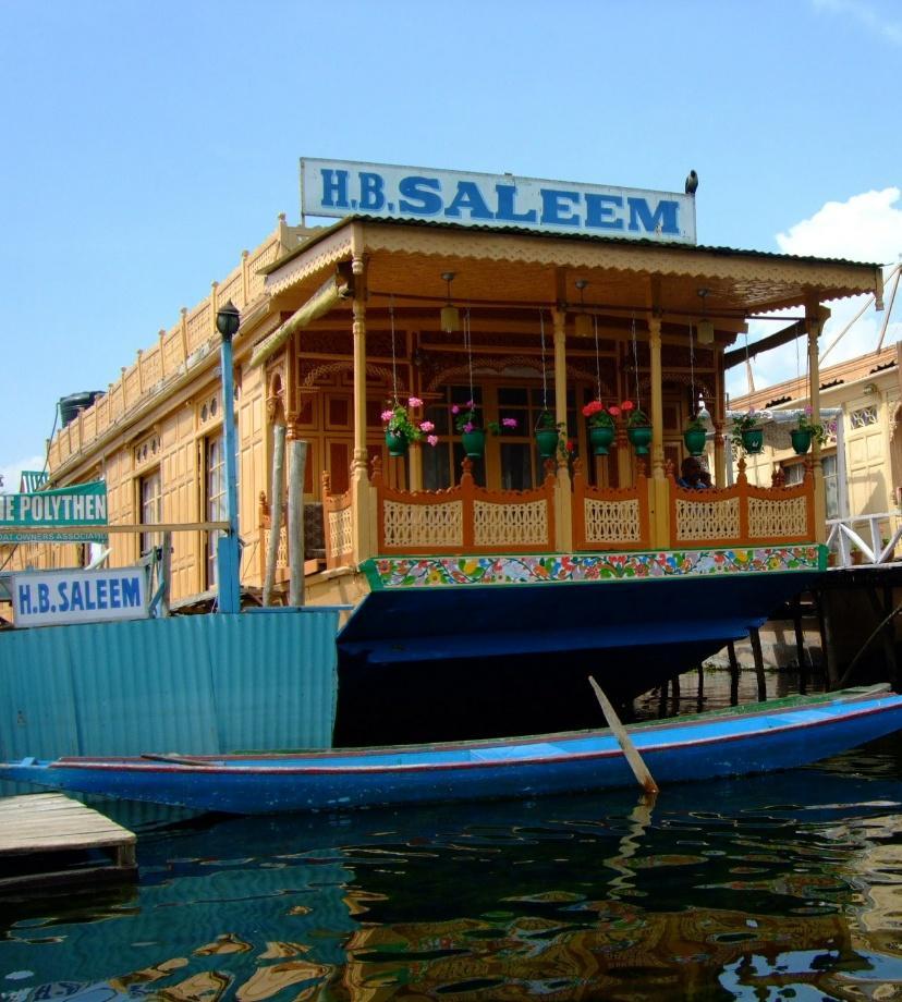 Saleem Houseboat - Dal Lake - Srinagar Image