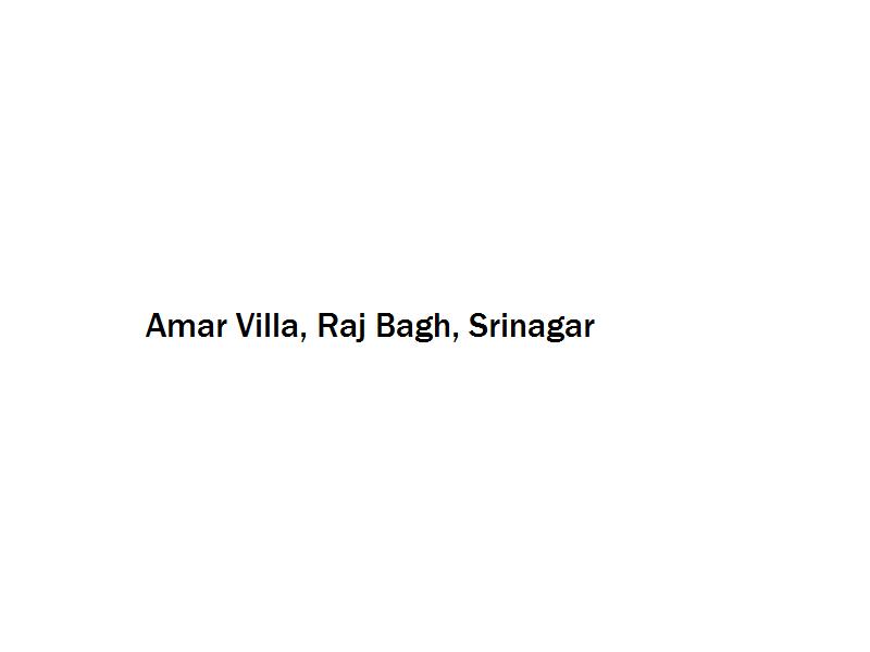 Amar Villa - Raj Bagh - Srinagar Image