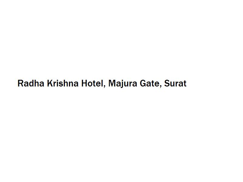 Radha Krishna Hotel - Majura Gate - Surat Image
