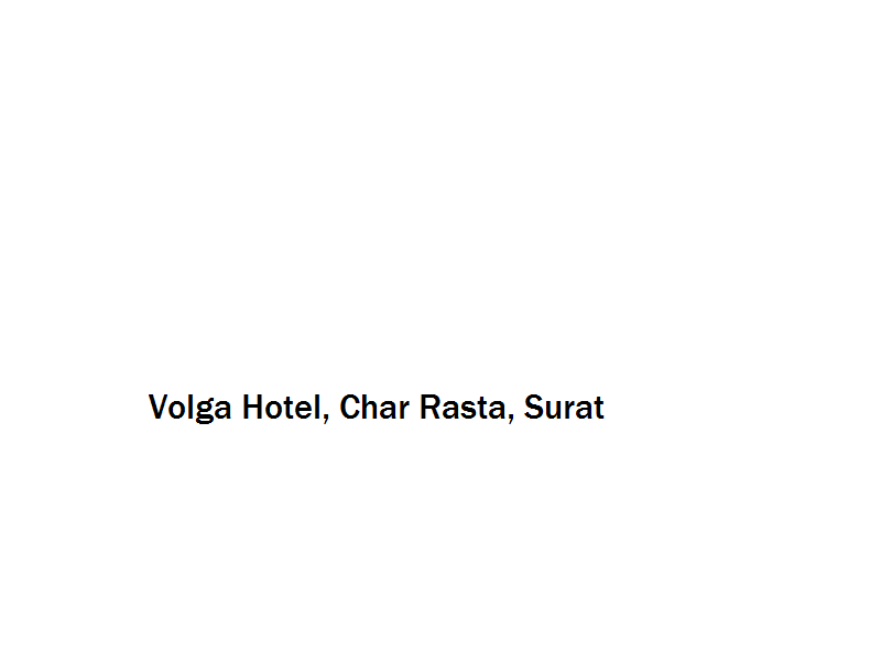 Volga Hotel - Char Rasta - Surat Image