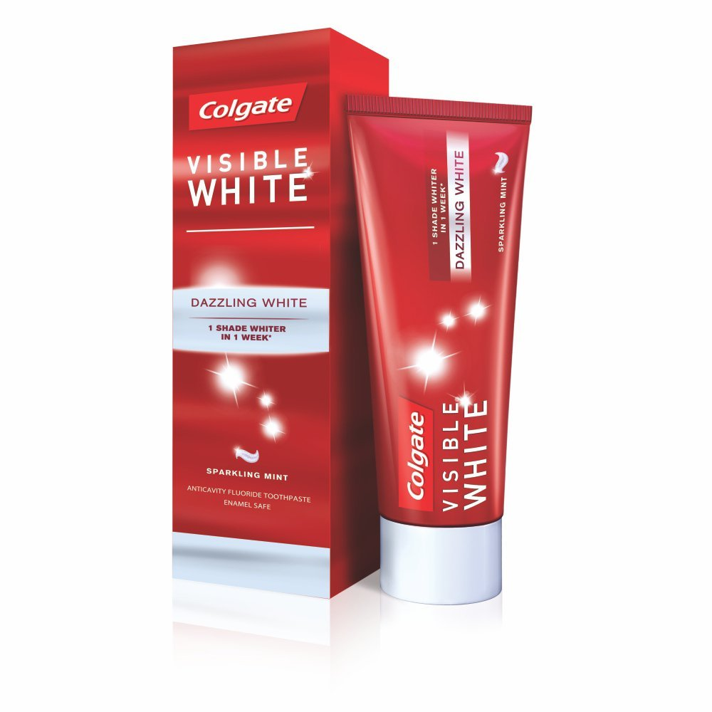 Colgate Visible White Toothpaste Review Colgate Visible White