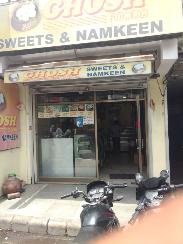 Ghosh Foods Sweets & Namkeen - Lal Bangla - Kanpur Image