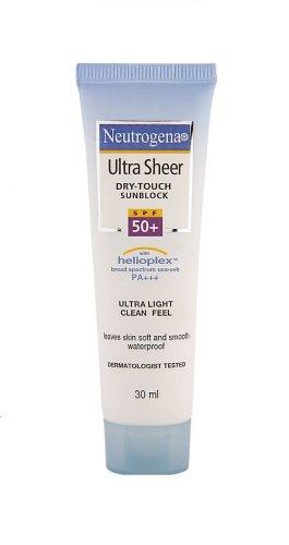 Neutrogena Ultra Sheer Dry Touch Sunblock Image