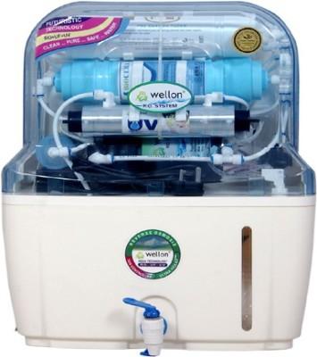 Wellon Nova Premium RO + UV + Antioxidant Alkaline+TDS Controller 15 L UF Water Purifier Image