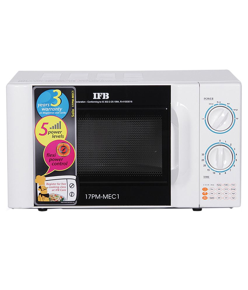 Ifb 17 Ltr 17pm Mec1 Solo Microwave Oven Image
