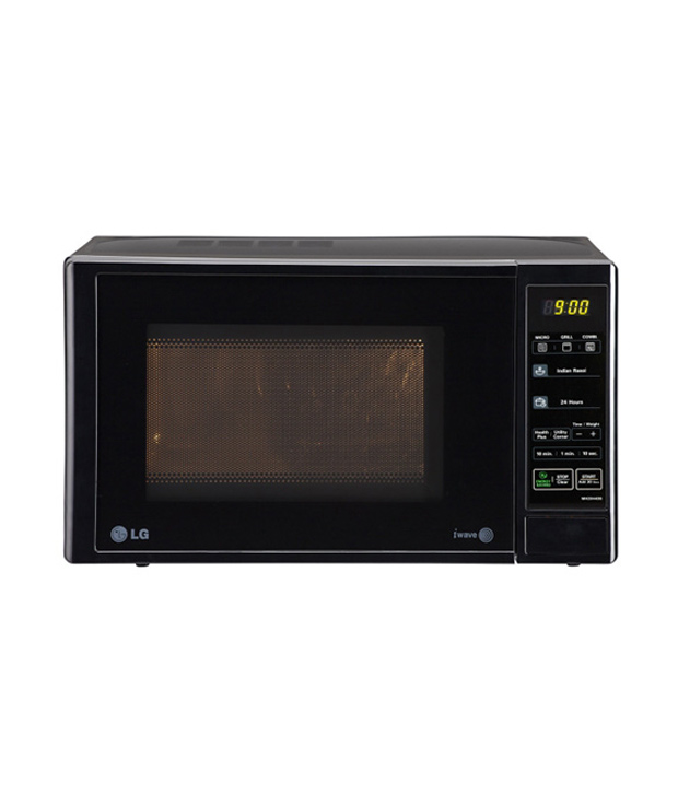 Lg 20 Ltr Mh2044db Grill Microwave Oven Reviews Price