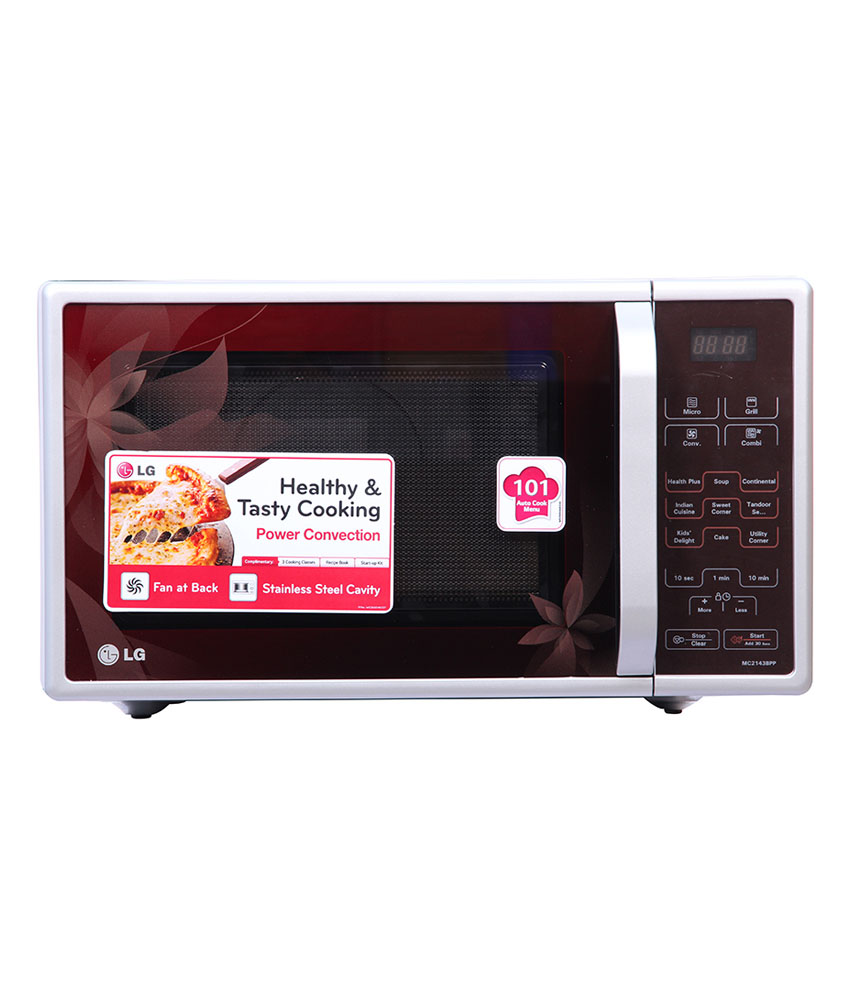 Lg 21ltr Mc2143bpp Convection Microwave Oven Image