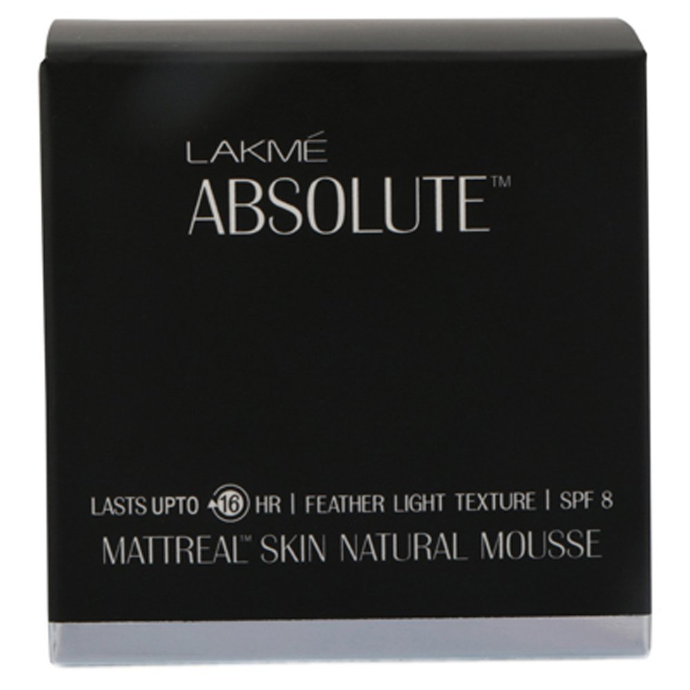 Lakme Absolute Mattreal Skin Mousse Image
