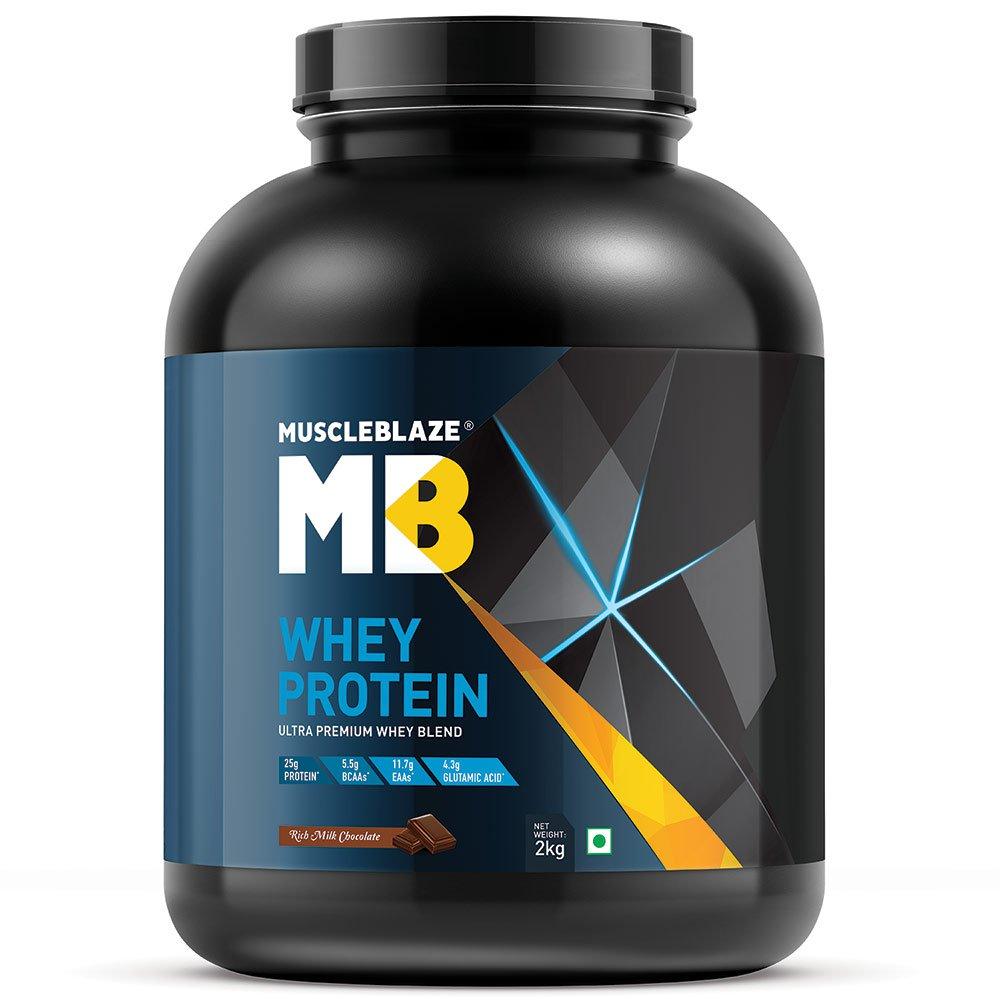 MuscleBlaze Whey Protein Image