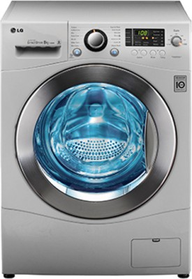 LG F1280WDP25 6.5 kg Fully Automatic Front Loading Washing Machine Image