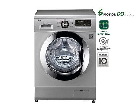 LG F1496ADP24 8/4 kg Fully Automatic Front Loading Washer Dryer Image