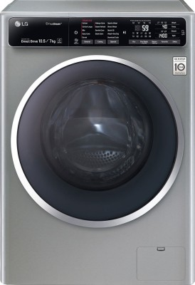 LG FH4U1JBHK6N 10.5/7 kg Fully Automatic Front Loading Washer Dryer Image
