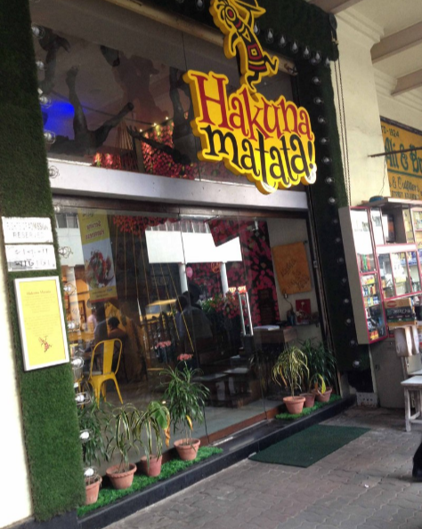 Hakuna Matata - Park Street - Kolkata Image