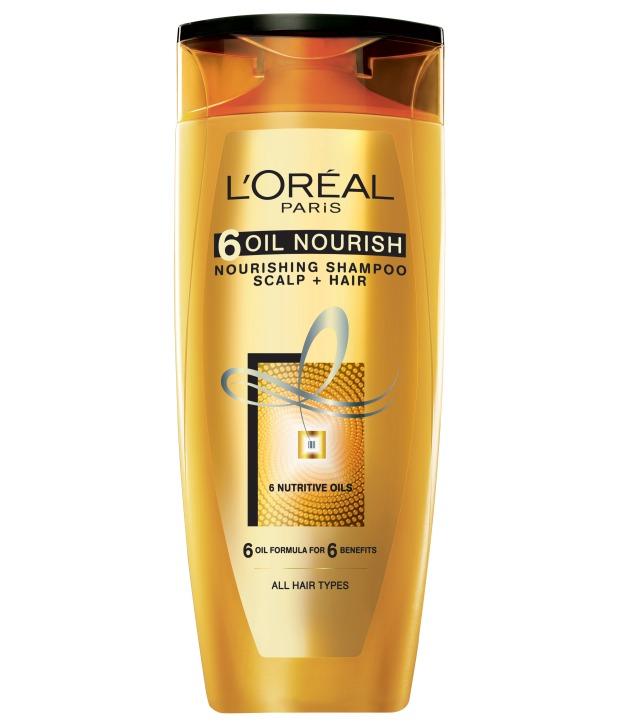 L'Oreal Paris 6 Oil Nourish Shampoo Image