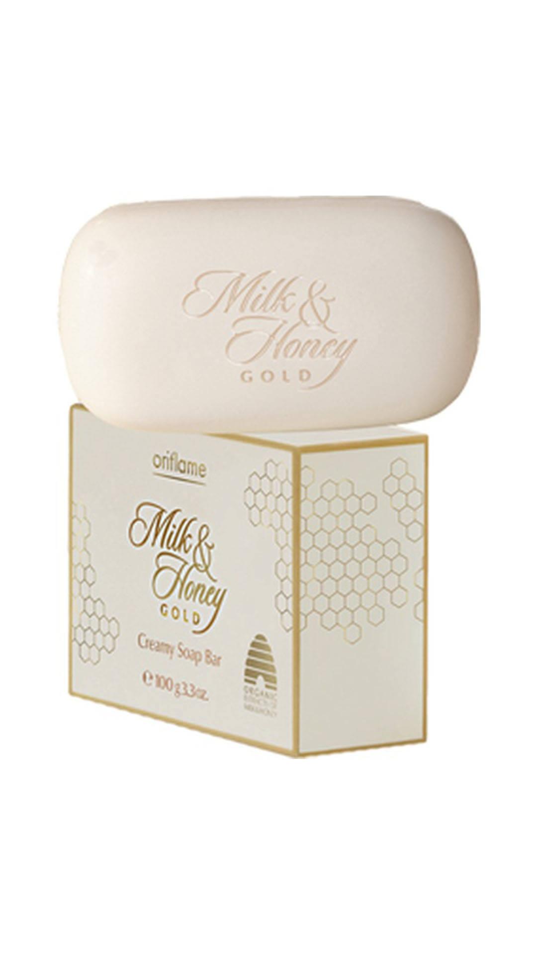 ORIFLAME MILK & HONEY GOLD CREAMY SOAP Reviews, ORIFLAME