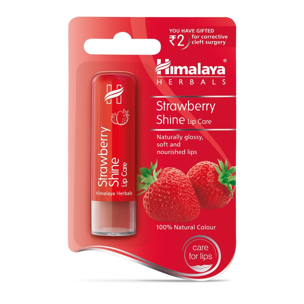 HIMALAYA HERBALS STRAWBERRY SHINE LIP CARE Reviews ...