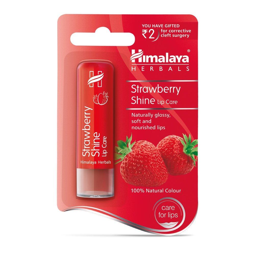 Himalaya Herbals Strawberry Shine Lip Care Image