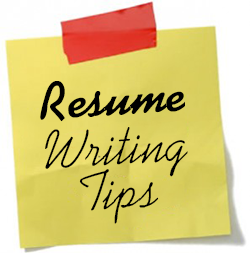 How to Write a Resume Image