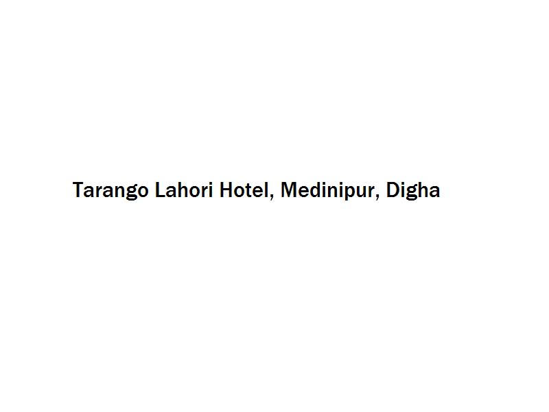 Tarango Lahori Hotel - Medinipur - Digha Image