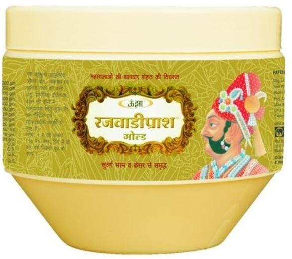 Unjha Rajwadi Gold Chyawanprash Image