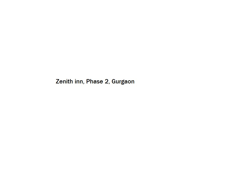 Zenith inn - Phase 2 - Gurgaon Image