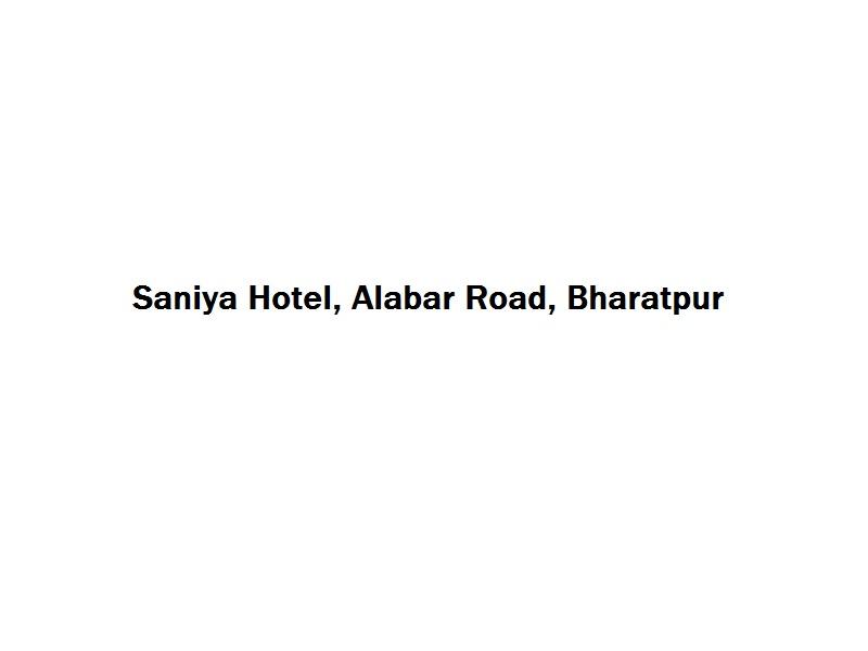 Saniya Hotel - Alabar Road - Bharatpur Image