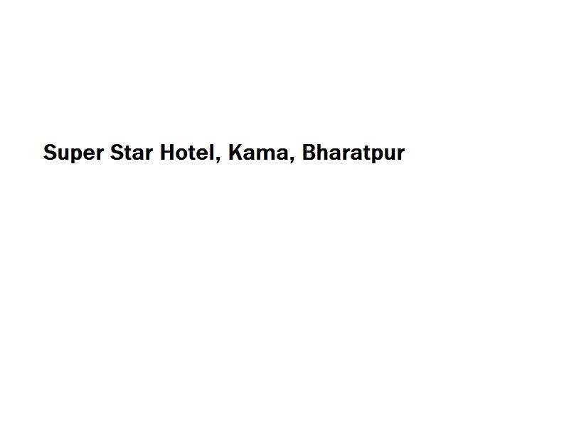 Super Star Hotel - Kama - Bharatpur Image