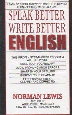 Speak Better Write Better English - Norman Lewis Image