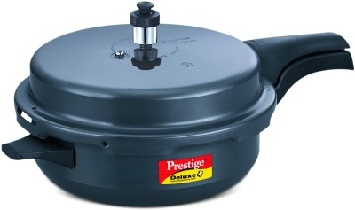 Prestige Hard Anodised Deluxe Plus Senior 5 L Pressure Cooker Image