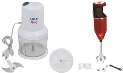 Cello CC-SWING+CPX350MAROON 350 W Hand Blender Image