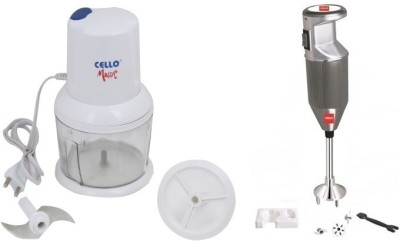 Cello CC-SWING+CPX350SILVER 350 W Hand Blender Image