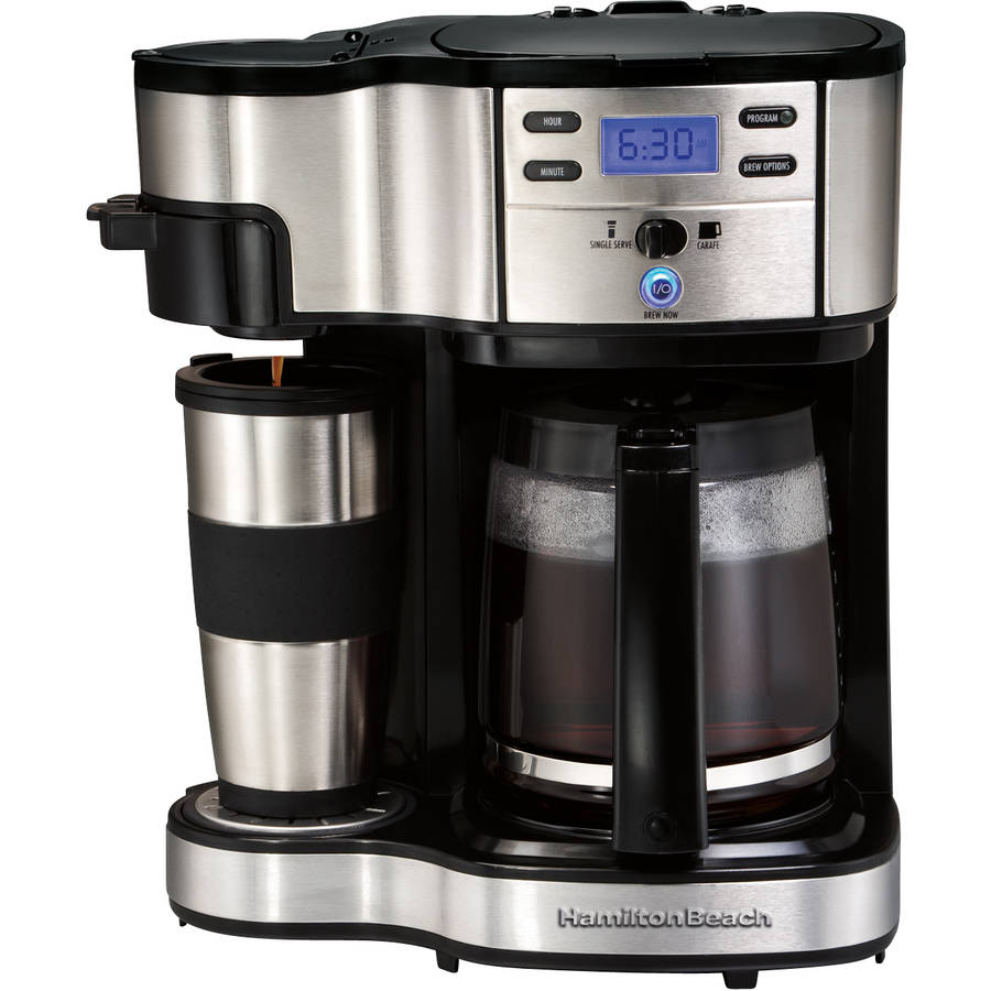 Hamilton Beach 2 Way Brewer Mug 49980 12 Cups Coffee Maker Image