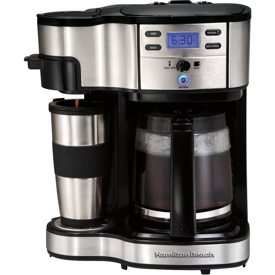 Hamilton Beach 2 Way Brewer Mug 49980 12 Cups Coffee Maker Image